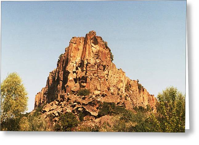 Anatolia Greeting Cards - Rock Formations, Cappadocia, Central Greeting Card by Panoramic Images