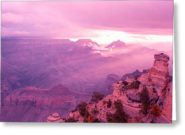 Yaki Greeting Cards - Rock Formations In A National Park Greeting Card by Panoramic Images