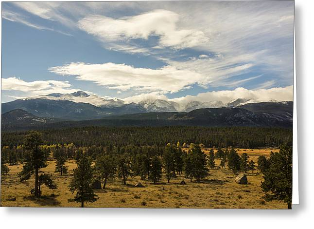 Travel Photography Greeting Cards - Rocky Mountain National Park - Estes Park Colorado Greeting Card by Brian Harig