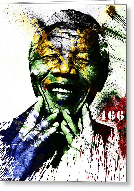 The Digartist Greeting Cards - Rolihlahla Greeting Card by The DigArtisT