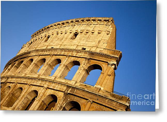 Martyr Greeting Cards - Roman Coliseum Greeting Card by Brian Jannsen
