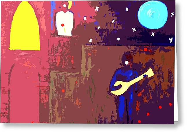 Romeo And Juliet Greeting Card by Patrick J Murphy