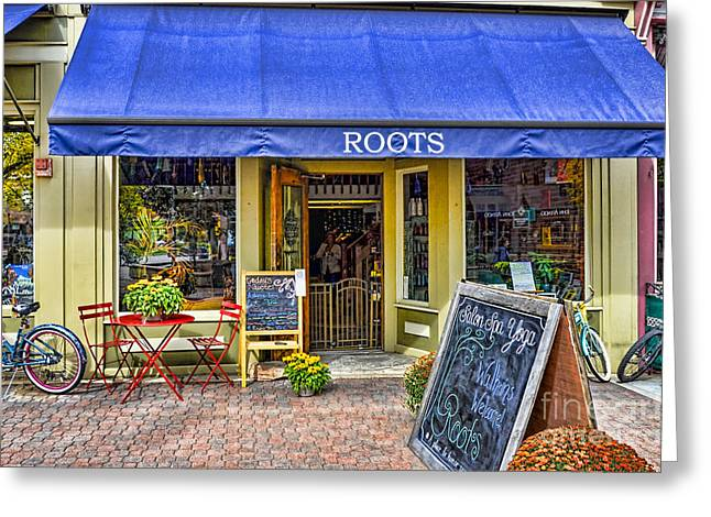 Fort Collins Greeting Cards - Roots Greeting Card by Keith Ducker