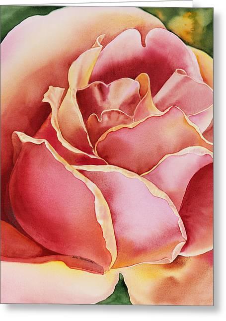 Rose Petals Greeting Cards - Rose  Greeting Card by Irina Sztukowski