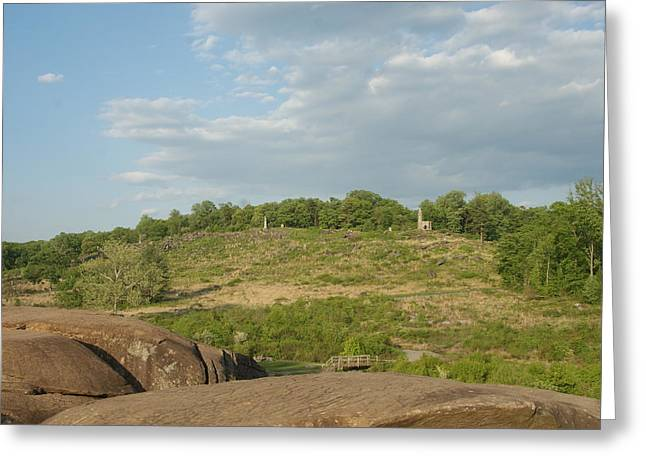 Devils Den Greeting Cards - Round Top Greeting Card by Rob Luzier