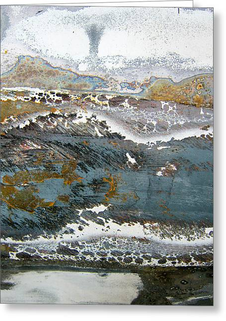 Surface Design Greeting Cards - Rust never sleeps Greeting Card by Les Cunliffe