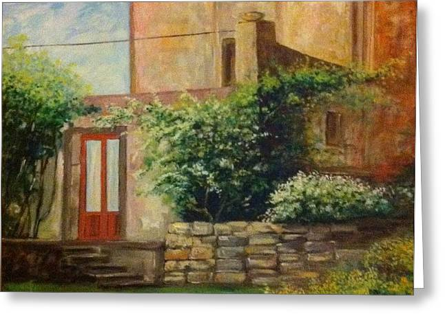 B Russo Greeting Cards - Rustico Siciliano  Greeting Card by B Russo