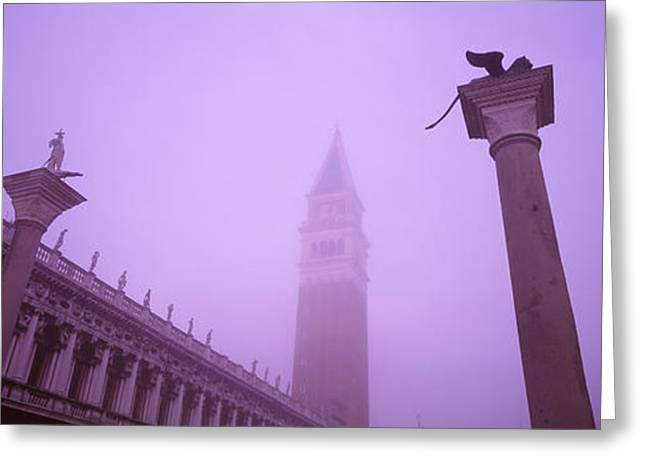 Saint Marks Square, Venice, Italy Greeting Card by Panoramic Images