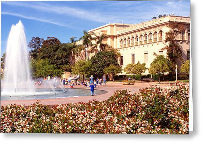 Balboa Park Greeting Cards - San Diego Ca Greeting Card by Panoramic Images