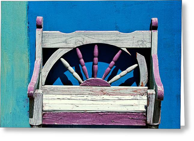 santa fe chair Greeting Card by Elena Nosyreva