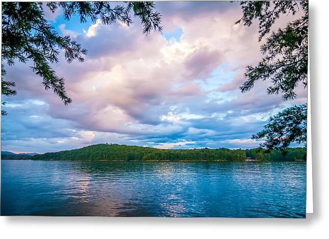 Outlook Greeting Cards - Scenery Around Lake Jocasse Gorge Greeting Card by Alexandr Grichenko