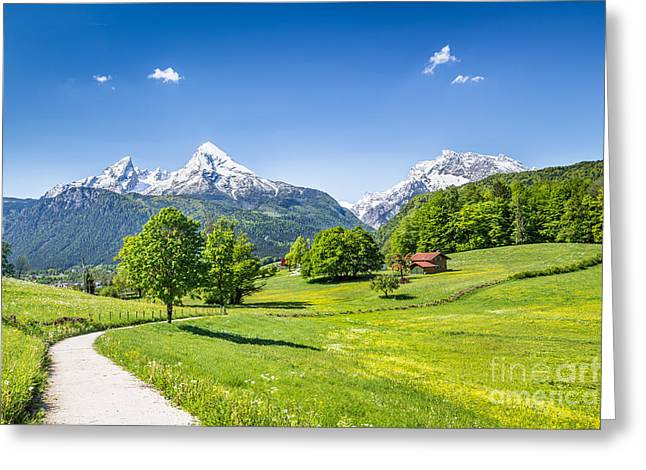 Scenic Bavaria Greeting Card by JR Photography