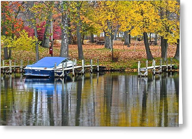 Willow Lake Greeting Cards - Seasons End Greeting Card by Frozen in Time Fine Art Photography