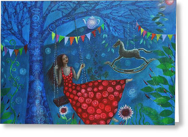 Empowerment Greeting Cards - Seventh Tree Greeting Card by Alice Mason