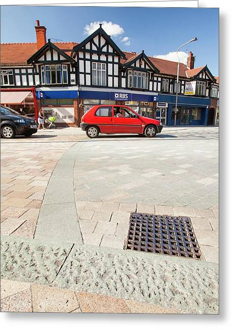 Shared Space In Poynton Greeting Card by Ashley Cooper