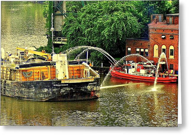 Visceral Greeting Cards - Ship Shape Greeting Card by Frozen in Time Fine Art Photography