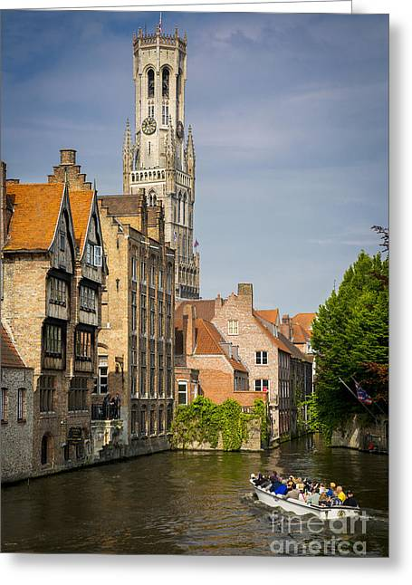 The North Greeting Cards - Sightseeing Bruges Greeting Card by Brian Jannsen