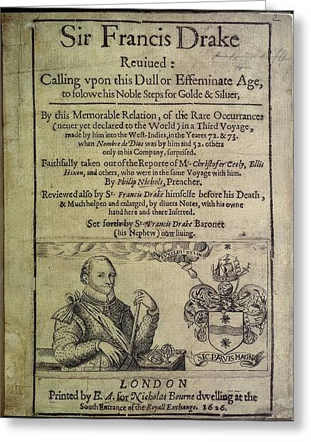 Sir Francis Drake Greeting Card by British Library