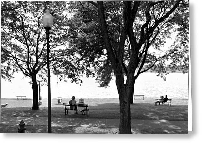 Fingerlakes Greeting Cards - Skaneateles Lake Greeting Card by Michael Carter
