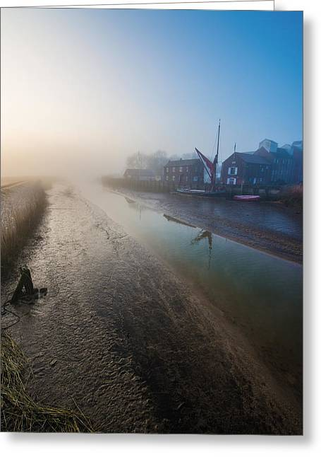 Snape Greeting Cards - Snape Maltings Greeting Card by Jon Medlow