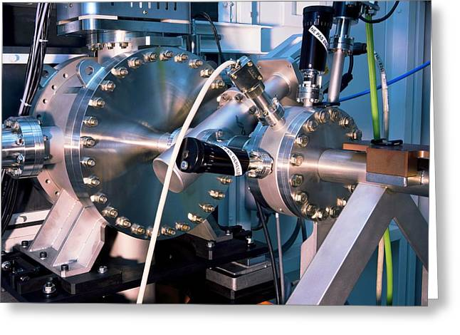Hi-tech Greeting Cards - SOLEIL synchrotron, artwork Greeting Card by Science Photo Library