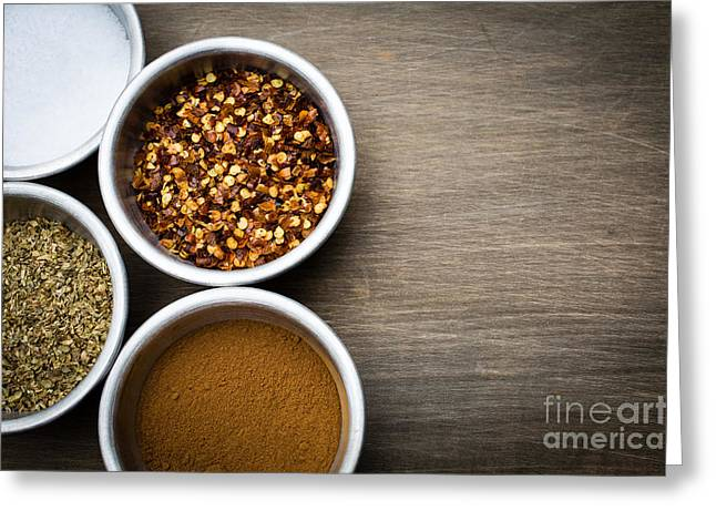 Spices  Greeting Card by Edward Fielding