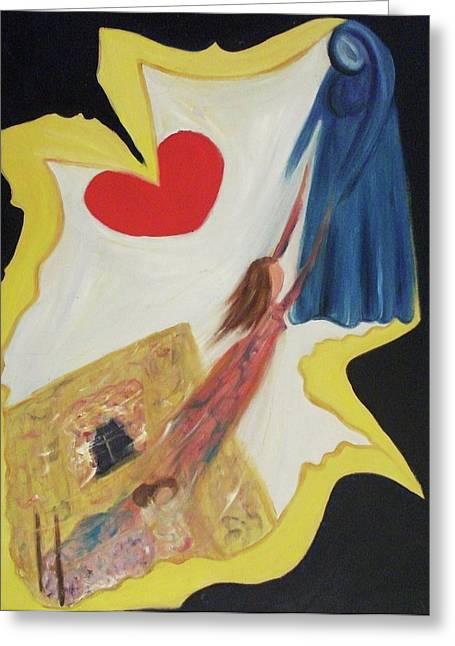 Suzanne Marie Leclair Greeting Cards - Spiritual Experience Greeting Card by Suzanne  Marie Leclair