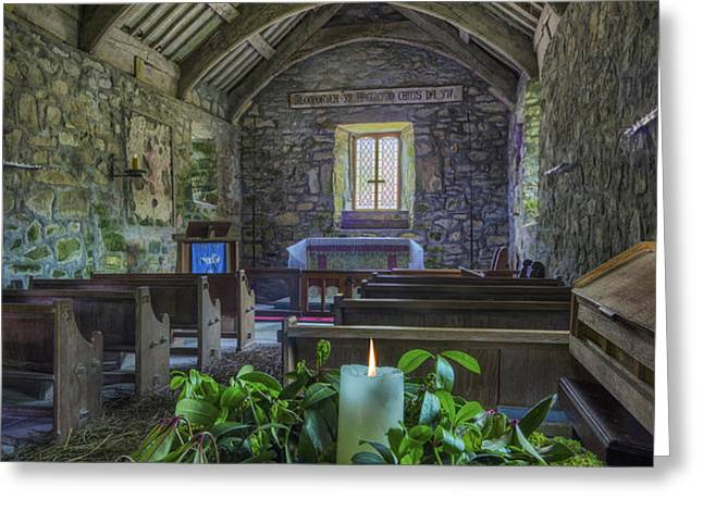 St Beunos Church Greeting Card by Ian Mitchell