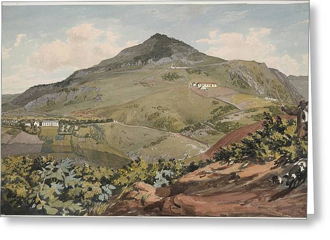 St. Helena Greeting Card by British Library