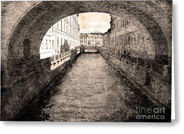 City Art Greeting Cards - St Petersburg Greeting Card by Elena Nosyreva