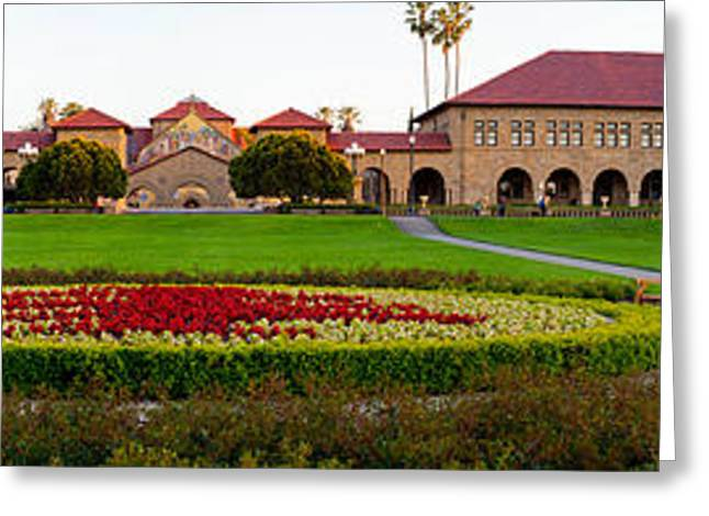 Alto Greeting Cards - Stanford University Campus, Palo Alto Greeting Card by Panoramic Images
