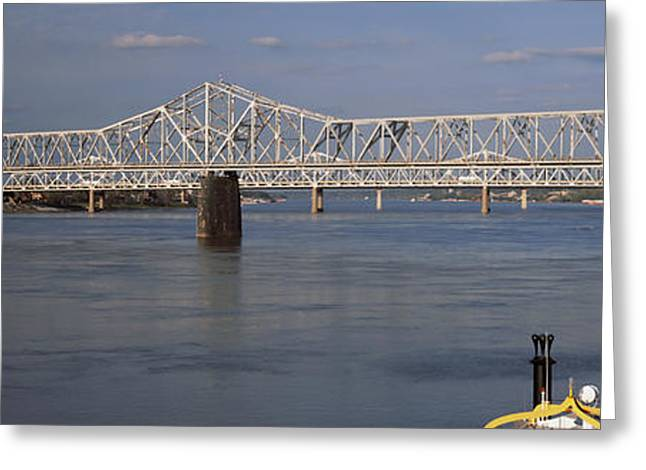 River Photography Greeting Cards - Steamboat Belle Of Louisville In Ohio Greeting Card by Panoramic Images