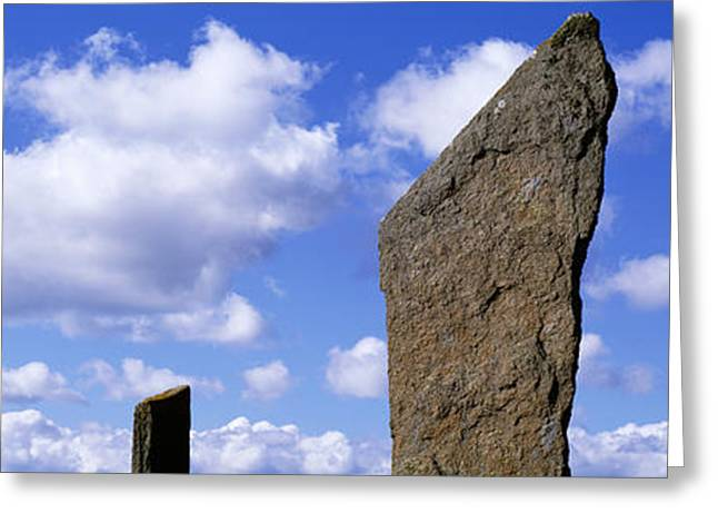 Stone Age Greeting Cards - Stones Of Stenness, Orkney Islands Greeting Card by Panoramic Images
