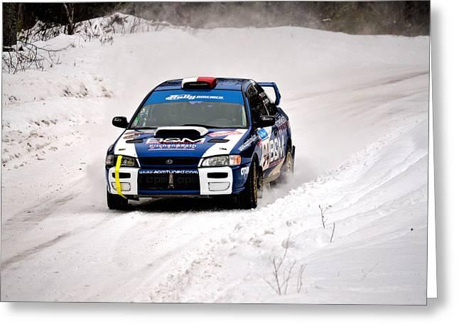 Impreza Greeting Cards - Subaru Car 94 Greeting Card by Rick Jackson