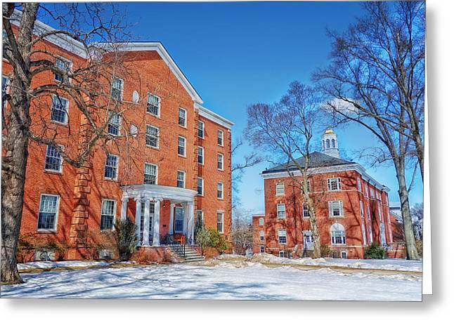 Campus Landscape Greeting Cards - Suffield Academy - Connecticut Greeting Card by Mountain Dreams