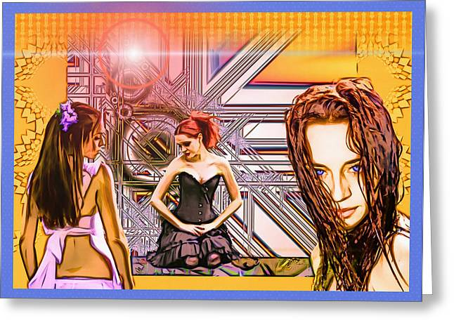 Lucent Dreaming Greeting Cards - Summertime Greeting Card by Nikola Durdevic