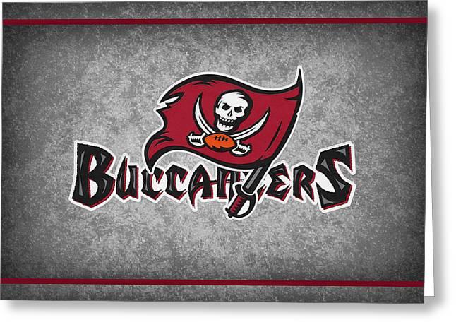 Tampa Bay Greeting Cards - Tampa Bay Buccaneers Greeting Card by Joe Hamilton