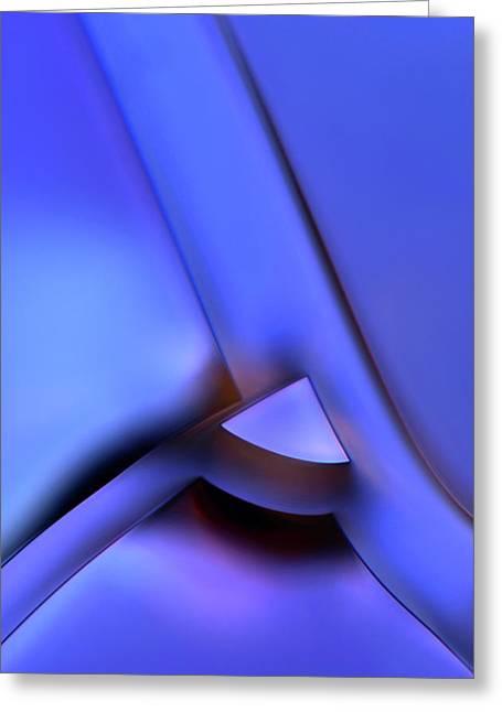 Tannic Acid Crystals Greeting Card by Marek Mis