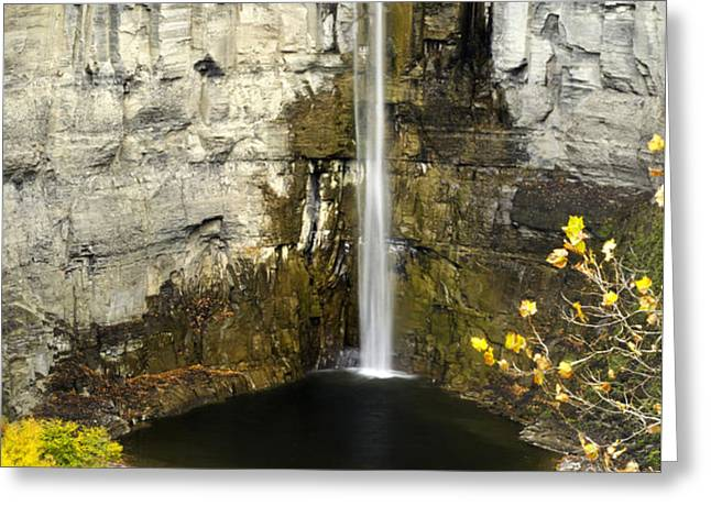 2 Taughannock Falls Greeting Card by Christina Rollo