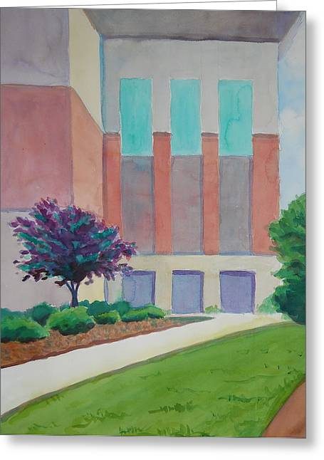 Western Carolina University Greeting Cards - The Beauty of Threes Greeting Card by Sheena Kohlmeyer