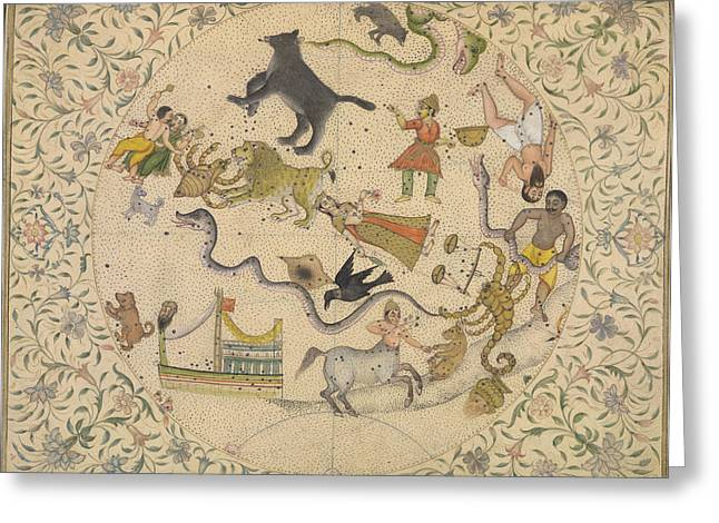 The Constellations Greeting Card by British Library