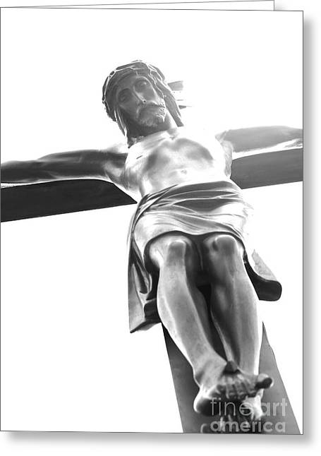 The Crucifixion Greeting Card by Sophie Vigneault