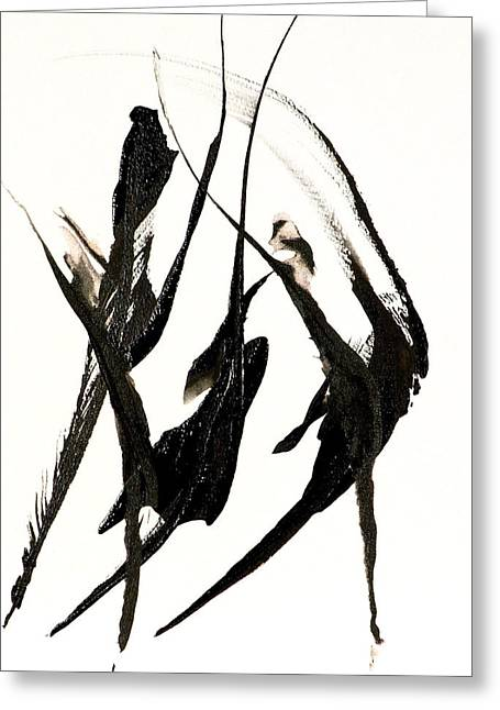 Best Sellers -  - Catherine White Greeting Cards - The Dance Greeting Card by Catherine Jeltes