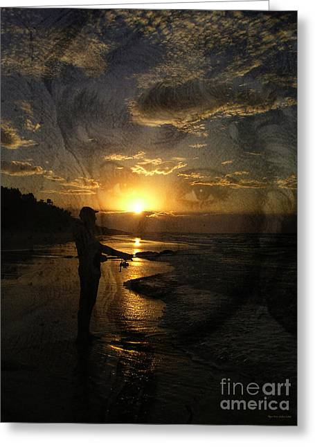Famous Photographer Greeting Cards - The Fishing Lure Greeting Card by Megan Dirsa-DuBois