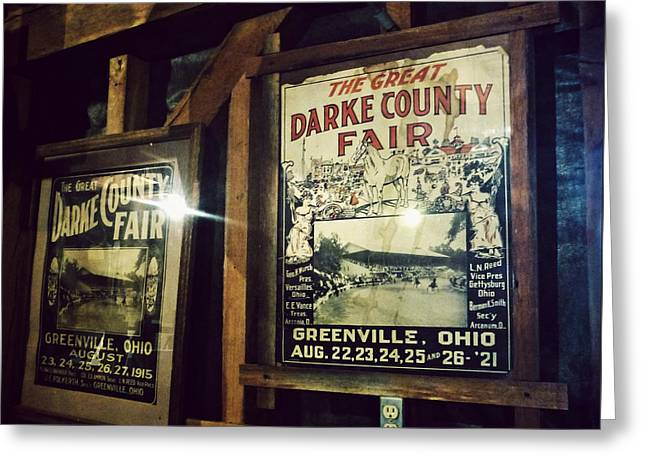 Grist Mill Greeting Cards - The Great Darke County Fair Greeting Card by Natasha Marco
