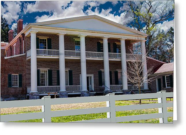 Home Of Andrew Jackson Greeting Cards - The Hermitage Greeting Card by Robert Hebert