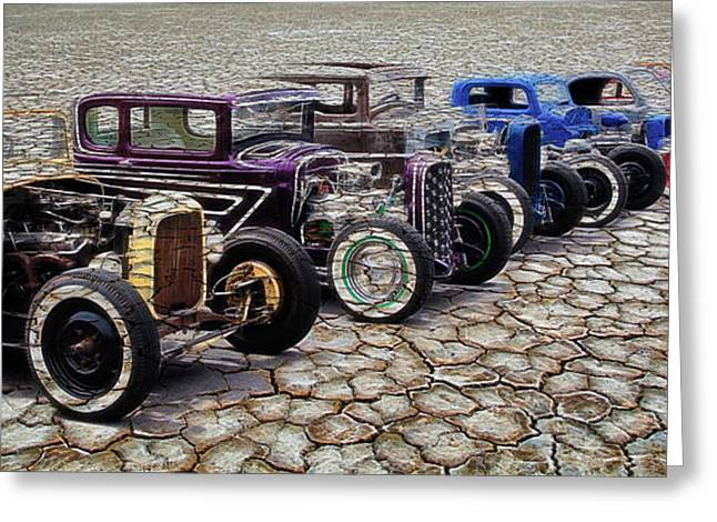 Deuce Coupe Greeting Cards - The Old Ones Greeting Card by Steve McKinzie