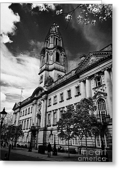 Centre Court Greeting Cards - The sessions house courthouse Preston England UK Greeting Card by Joe Fox