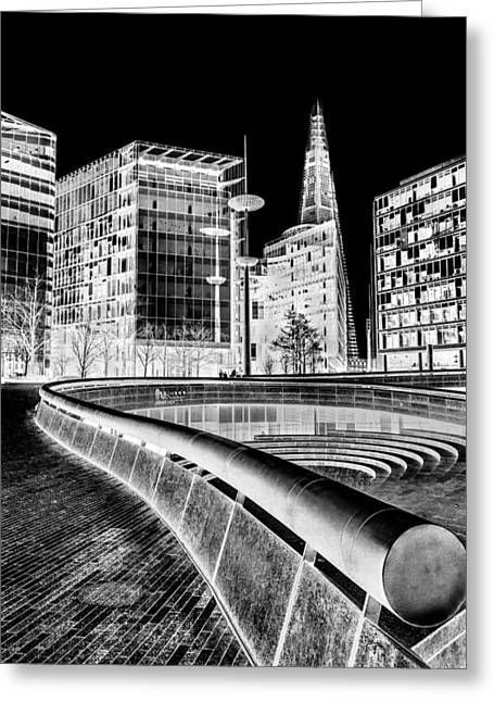 Shards Greeting Cards - The Shard Greeting Card by Ian Hufton