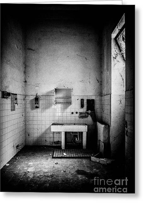 Empty Chairs Greeting Cards - This is the way step inside Greeting Card by Traven Milovich